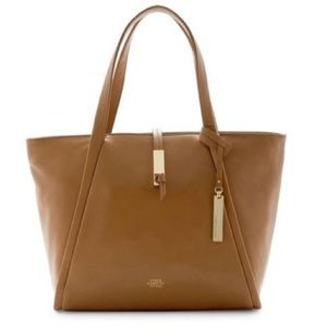 Vince Camuto Reed Small Leather Tote - Mocha 01